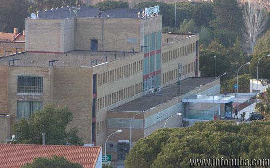 Imagen del Hospital Comarcal de Riotinto.