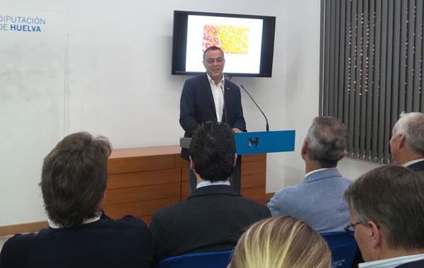 El presidente de la Diputación de Huelva presentó el nuevo diseño de la marca