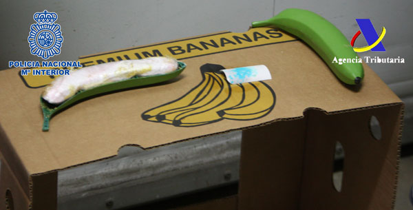 Imagen del contenido de las bananas.