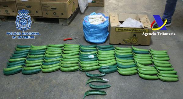 Imagen de algunas de las bananas.