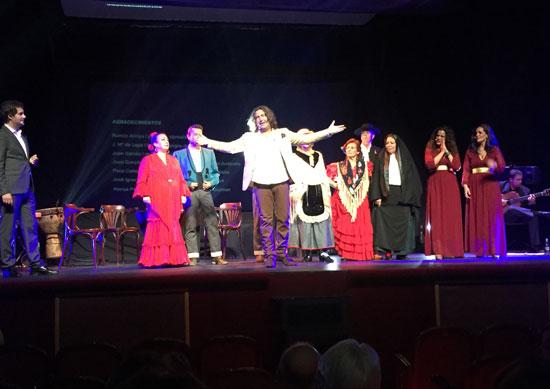 Imagen del espectáculo 'Huelva, Luz del Flamenco'.