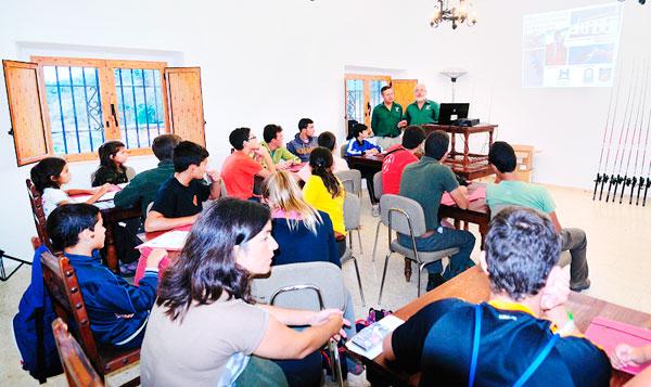 imagen de una de las actividades en el Centro de Investigación Agrícola y Ganadera.