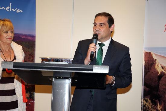 José Luis Ramos durante su intervención en el acto.