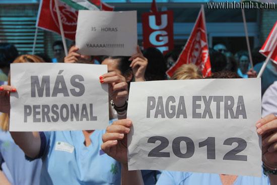 Imagen de las principales reivindicaciones de los trabajadores y trabajadoras.