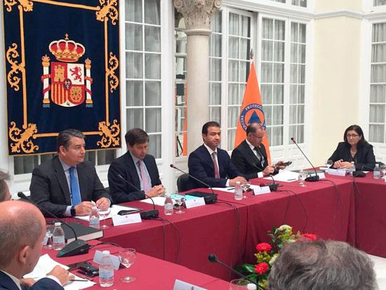 Reunión sobre la Operación Paso del Estrecho.
