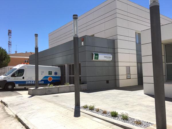Imagen del nuevo Centro de Salud de Cumbres Mayores.
