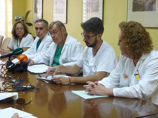 Profesionales del Complejo Hospitalario Universitario de Huelva dan a conocer los datos sobre la atención materno-infantil.
