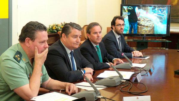 Presentación de la Operación Rosa en la Delegación del Gobierno.