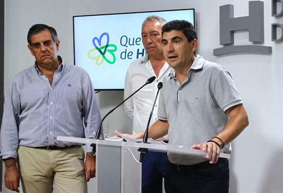 Emilio Fernández durante su intervención en el acto de presentación del estudio.