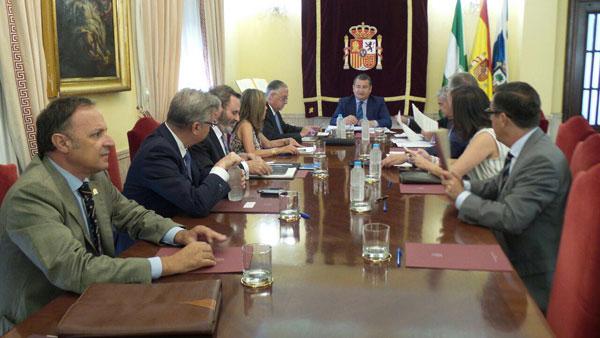 Imagen de la Comisión Territorial de Asistencia celebrada en Huelva.