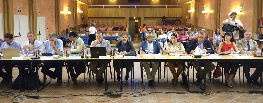 Imagen del pleno del Consejo de Participación de Doñana.
