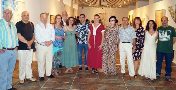 Presentación de la exposición colectiva 'Doñana, Paisaje de vida'.
