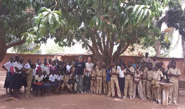 Escuela en Costa de Marfil.