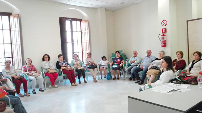 Imagen de una de las sesiones.