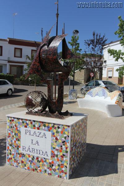 Imagen de la Plaza de La Rábida.