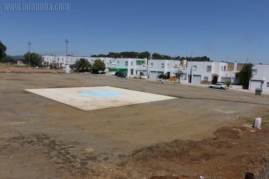 Imagen del lugar donde se instaló el circo y que según algunos vecinos solo permaneció un día.