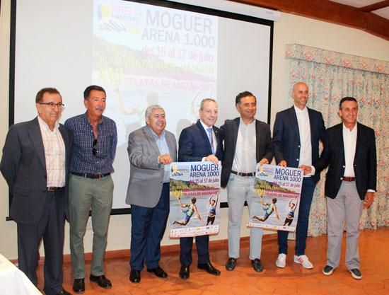 Presentación del evento en el Parador de Mazagón.