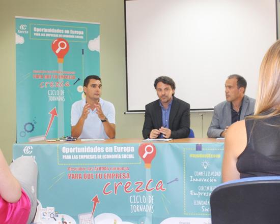 Imagen de la jornada celebrada en las instalaciones del Centro de Inserción Sociolaboral Los Rosales.