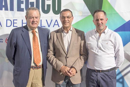 El encuentro ha sido inaugurado por el Alcalde de la localidad, Jacinto José Vázquez; el Presidente de la Diputación Provincial de Huelva, Ignacio Caraballo; y el Presidente de Aminer, Francisco Moreno.