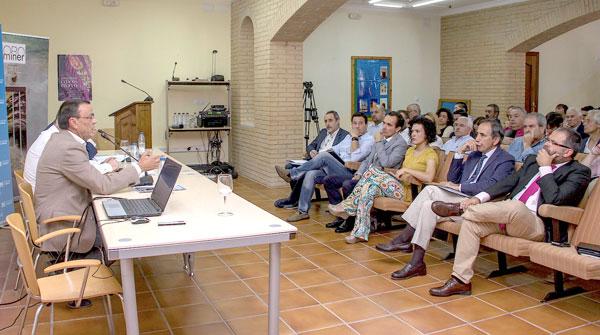 Imagen del encuentro celebrado en Almonaster la Real.