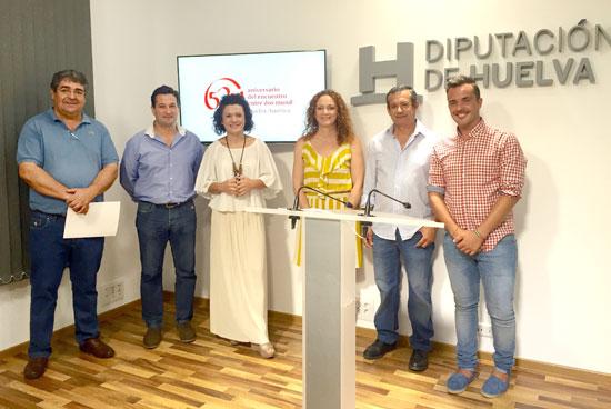 Imagen de la presentación de la actividad en la Diputación de Huelva.