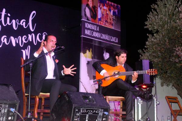 Actuación de Jesús Méndez.