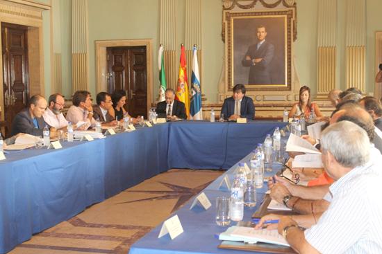 Imagen de la Mesa de Participación de los Fosfoyesos celebrada el pasado mes de septiembre.