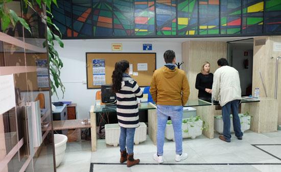 Imagen de la Oficina de la Vivienda en Huelva.