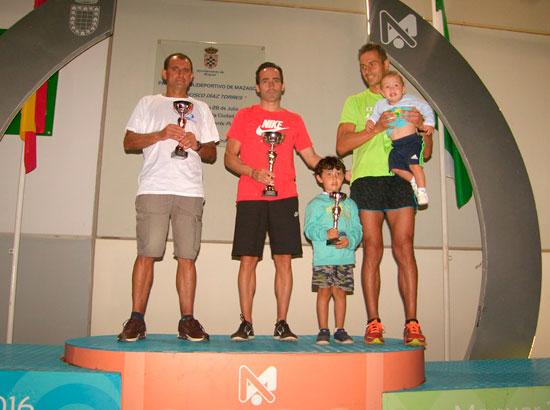 Imagen del podium masculino.