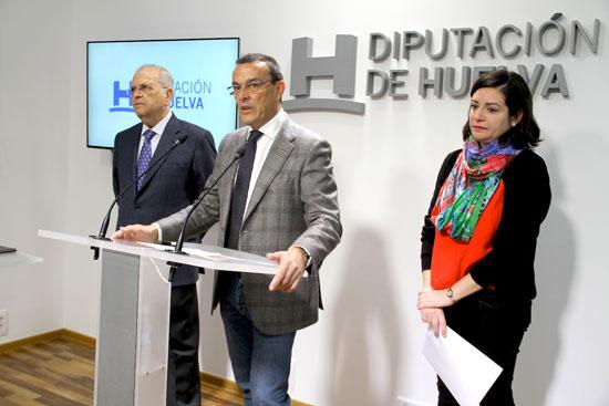 Convenio con el economato Resurgir con la Diputación de Huelva.