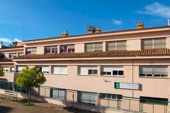 Imagen de la Residencia Escolar Javier López de Valverde del Camino.