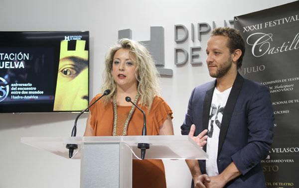 Lourdes Garrido durante su intervención en el acto.