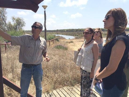 Imagen de la visita a Salinas del Astur.