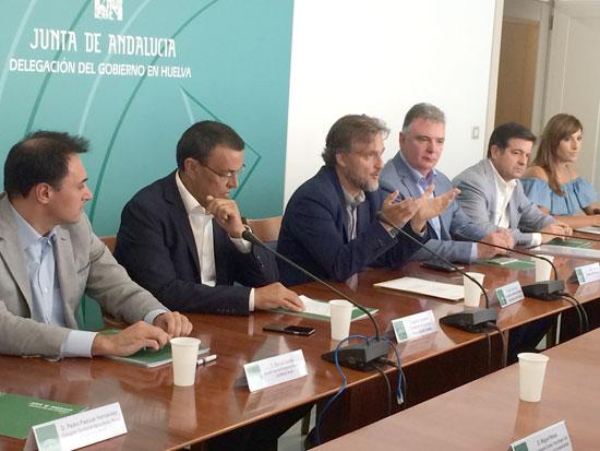 José Fiscal durante su intervención en el acto.