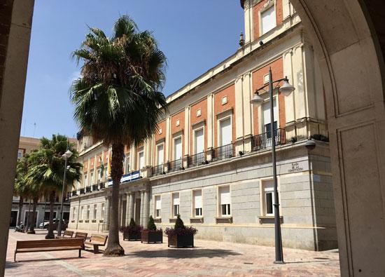 Imagen del Ayuntamiento de Huelva.