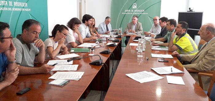 Imagen de la reunión celebrada en la mañana de hoy.