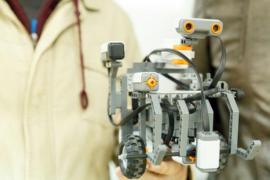Imagen de uno de los robots.