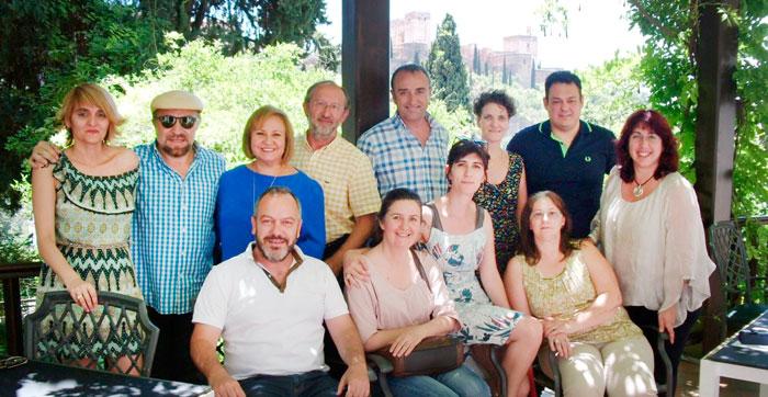 Imagen de los representantes de las diferentes universidades andaluzas.