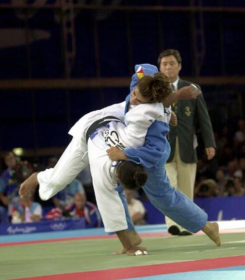 Imagen de una competición de Judo.