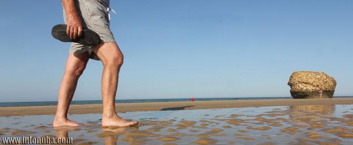 Playa de Matalascañas en Huelva.
