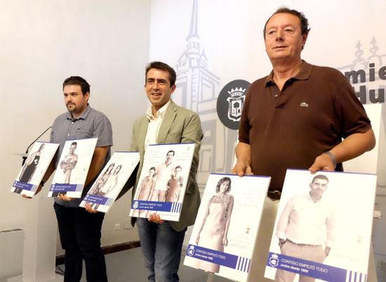 El Ayuntamiento de Huelva, junto al Recreativo Supporters Trust y la Federación de Peñas del Recreativo ha presentado hoy la campaña de abonados del club Decano para la temporada 2016/17.