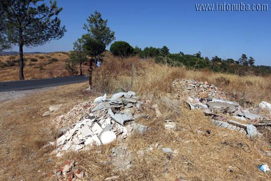 Imagen de la montaña de residuos.