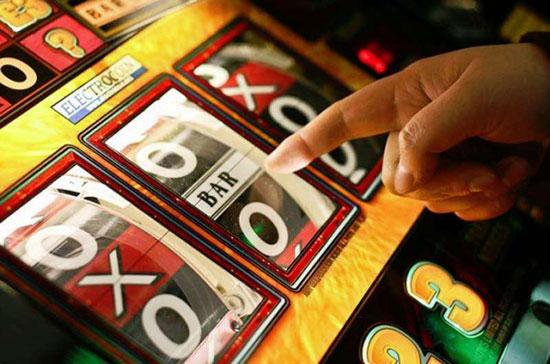 Imagen de una máquina de juego.