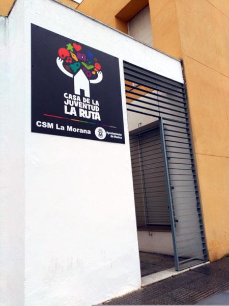 Imagen de la Casa de la Juventud 'La Ruta'.