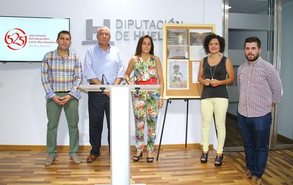 Presentación de la Ruta Solidaria de Cumbres Mayores en la Diputación de Huelva.