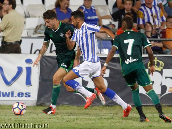 Imagen del encuentro entre el Recreativo de Huelva y el Real Betis.