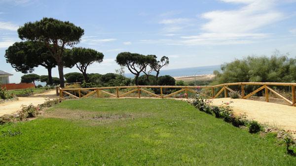 Imagen del Parque Público de Mazagón.