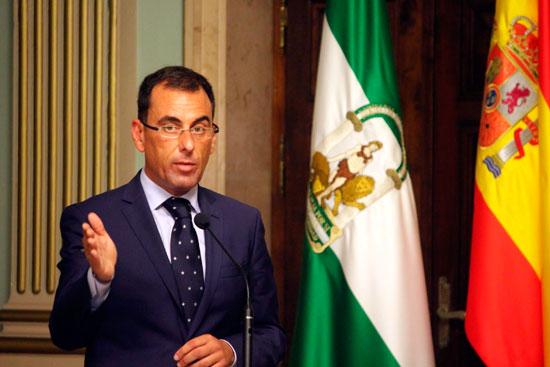 Ángel Sánchez durante el Debate sobre el Estado de la Ciudad