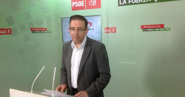 Manuel Guerra en rueda de prensa.