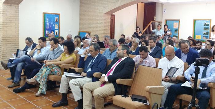 Imagen del encuentro sobre el sector minero.
